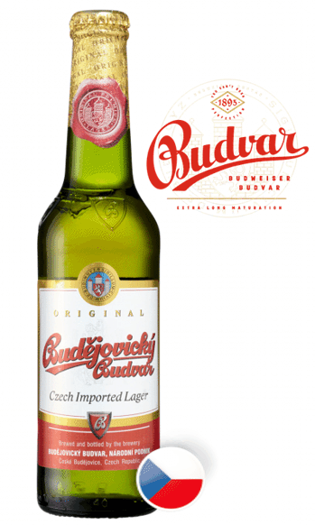 BUDVAR– Budejovicky Larger Original