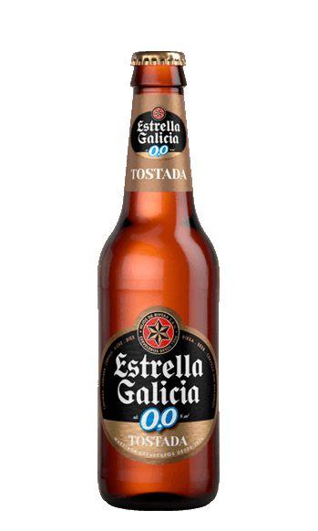 Estrella Galicia tostada 0,0