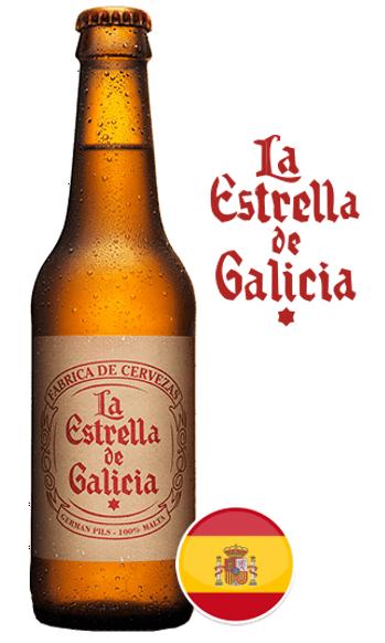 LA ESTRELLA DE GALICIA – German Pils 100% Malta